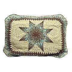 Donna Sharp Sea Breeze Star Standard Sham