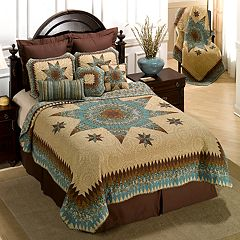 Donna Sharp Sea Breeze Star Quilt