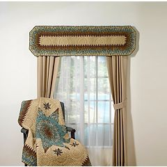 Donna Sharp Sea Breeze Star Window Valance