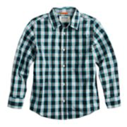 Boys 8-20 & Husky Urban Pipeline? Plaid Button-Down Shirt