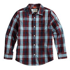 Boys 8-20 & Husky Urban Pipeline™ Plaid Button-Down Shirt