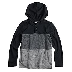 Boys 8-20 & Husky Urban Pipeline™ Colorblock Hooded Tee