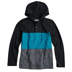 Boys 8-20 & Husky Urban Pipeline® Colorblock Hooded Tee