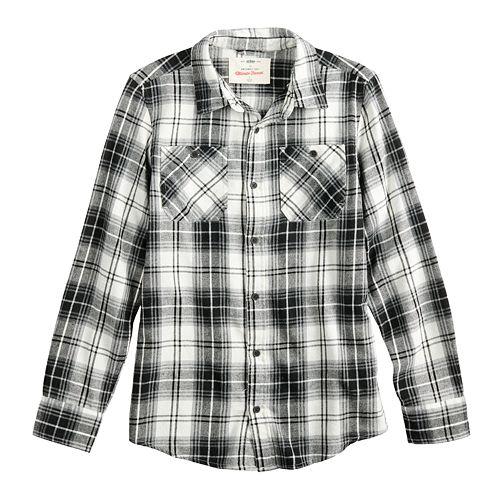 Boys 8-20 & Husky Urban Pipeline™ Button-Down Flannel Shirt