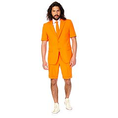 Men's OppoSuits Slim-Fit The Orange Summer Suit & Tie Set