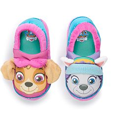 Paw Patrol Skye & Everest Toddler Girls' Slippers