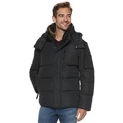 Men's AM Studio by Andrew Marc Down-Filled Hooded Jacket