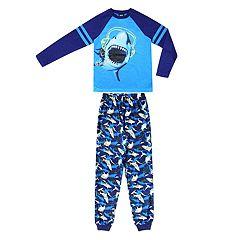 Boys 4-20 Jellifish Print 2-Piece Pajama Set