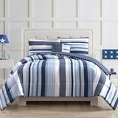 Laura Hart Kids Mason Stripe Comforter Set