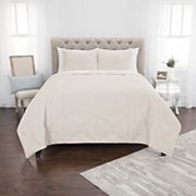 Rizzy Home Maddux Place Simpson Solid Quilt Set