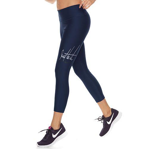 e4610c891f990d Women's Nike Power Training Mid-Rise Capri Leggings