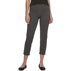 Women's Utopia by HUE Pinstripe Loafer Leggings