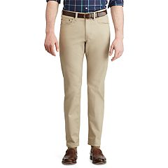 Men's Chaps Slim-Fit Stretch Twill 5-Pocket Pants