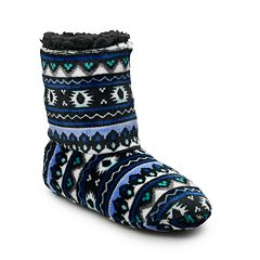 Women's Cuddl Duds Bootie Slipper Socks