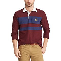 Men's Chaps Classic-Fit Rugby Shirt