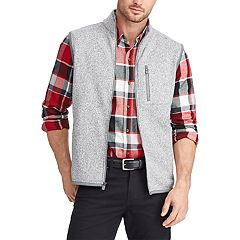 Men's Chaps Regular-Fit Sweater Fleece Vest