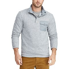 Men's Chaps Regular-Fit Fleece Quarter-Zip Pullover