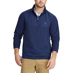 Men's Chaps Regular-Fit Fleece Quarter-Zip Pullover