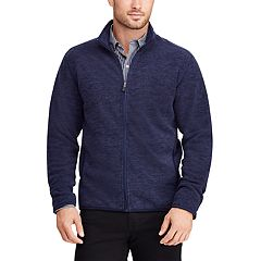 Men's Chaps Classic-Fit Space-Dye Full-Zip Jacket
