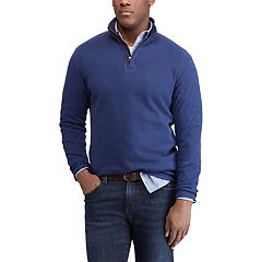 Men's Chaps Regular-Fit Mockneck Quarter-Zip Pullover
