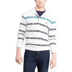 Men's Chaps Regular-Fit Striped Hoodie