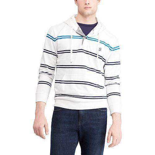 Men's Chaps Regular-Fit Striped Hoodie