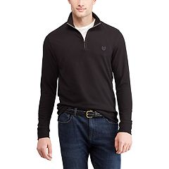 Men's Chaps Regular-Fit Quarter-Zip Pullover