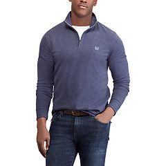 Men's Chaps Regular-Fit Quarter-Zip Pullover