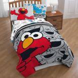 """Sesame Street Elmo """"Hip Elmo"""" Twin Full Comforter"""
