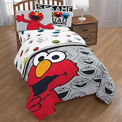 Sesame Street Elmo & Cookie Monster 'Hip Elmo' Sheet Set