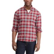 Men's Chaps Regular-Fit Performance Flannel Button-Down Shirt