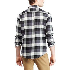 Men's Chaps Slim-Fit Plaid Flannel Button-Down Shirt