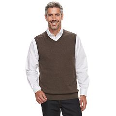 Men's Croft & Barrow® Fine-Gauge Sweater Vest