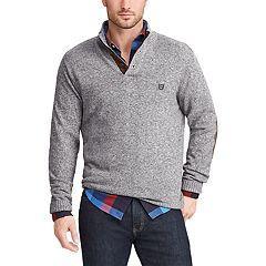 Men's Chaps Regular-Fit Mockneck Pullover Sweater