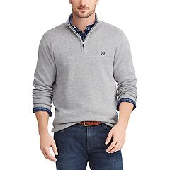 Men's Chaps Regular-Fit Textured Quarter-Zip Pullover