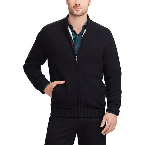 Men's Chaps Sherpa-Lined Baseball Jacket