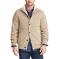 Men's Chaps Sherpa Twist Sweater Jacket