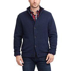 Men's Chaps Sherpa Twist Sweater Jacket