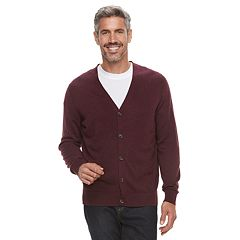 Men's Croft & Barrow® Fine-Gauge Cardigan Sweater