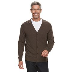 Men's Croft & Barrow® Fine-Gauge Cardigan Sweater