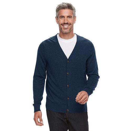 4dec1ca5e Men s Croft   Barrow® Fine-Gauge Cardigan Sweater