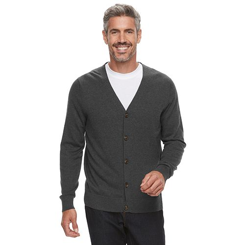 Men's Croft & Barrow® Fine-Gauge Sweater Vest