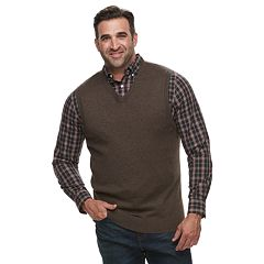 Big & Tall Croft & Barrow® Classic-Fit 12gg Sweater Vest
