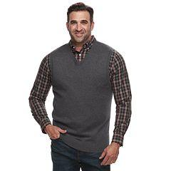 Big & Tall Croft & Barrow® Classic-Fit 12gg Sweater Vest
