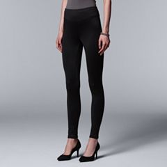 Simply Vera Vera Wang High Waist Fleece-Lined Leggings