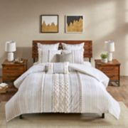 INK+IVY Imani 3-piece Cotton Duvet Cover Set