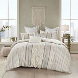 INK + IVY Imani 3-piece Cotton Duvet Cover Set