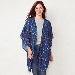 Women's LC Lauren Conrad Meadow Ditsy Kimono