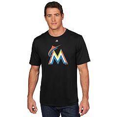 Men's Majestic Miami Marlins Logo Tee