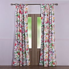 Barefoot Bungalow Blossom Window Curtain Set